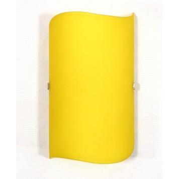 Plafon Wave Żółty