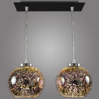 Lampa wisząca KULE 3D - NP/2/D3