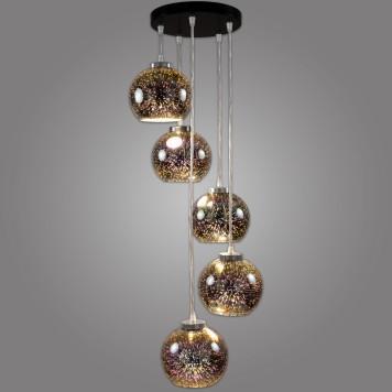 Lampa wisząca KULE 3D - NP/5/W/D3