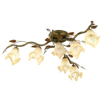 Lampa Barbado BL/7 zielona