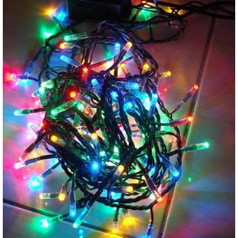 Światełka świąteczne wielokolorowe