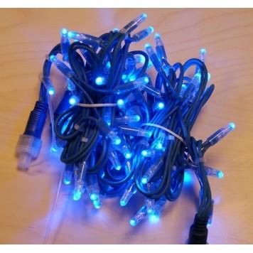 Światełka świąteczne, niebieskie