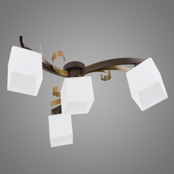 Lampa sufitowa ATRATO AT/4/P/B brązowa